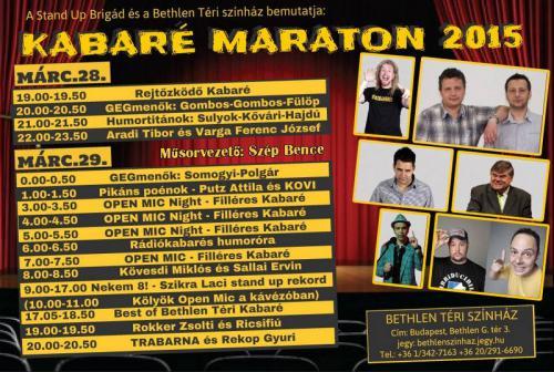 Maraton plakát