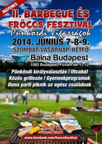 Fröccs és Barbecue Fesztivál 2014, plakát
