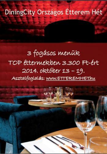 Étterem hét plakát