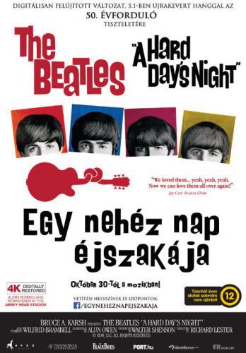 Egy nehéz nap éjszakája plakát