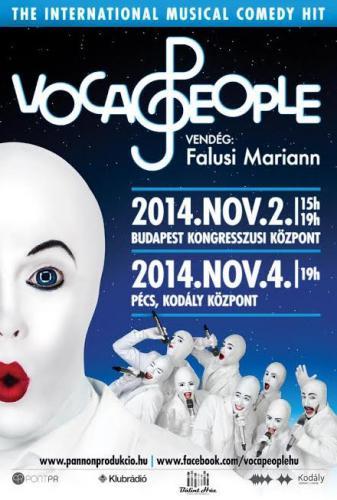 VOCA PEOPLE plakát