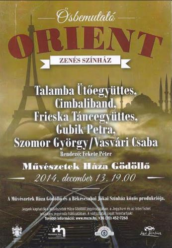 Orient plakát
