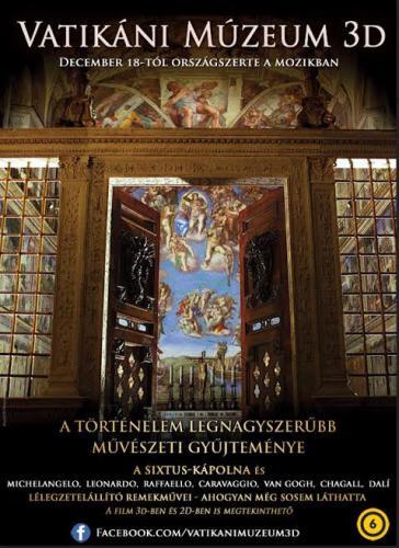 Vatikáni Múzeum 3D plakát
