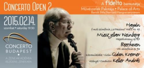 Concerto Open plakát