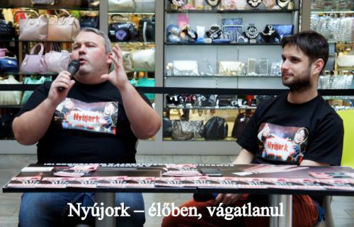 Dombóvári István és Hajdú Balázs