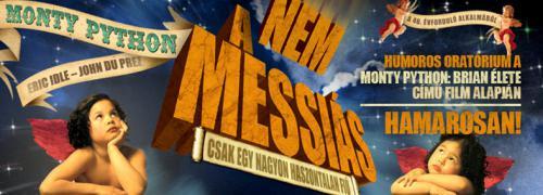 Nem a Messiás plakát