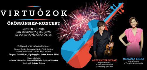 Örömünnep-koncert plakát
