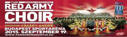Vörös Hadsereg Kórusa plakát