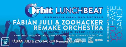 Orbit Lunch Beat plakát