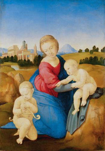 Raffaello: Esterházy Madonna