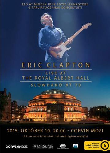 Eric Clapton plakát