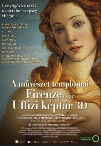 A művészet templomai plakát