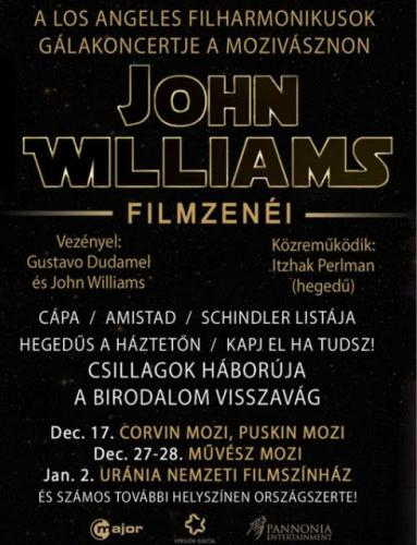 John Williams-gálakoncert plakát