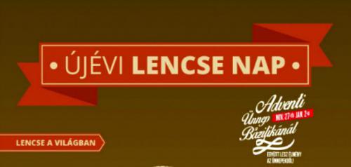 Újévi Lencse Nap plakát