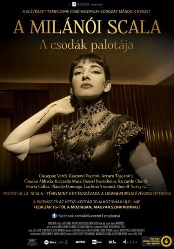 A milánói Scala plakát