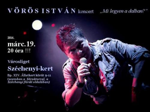 A koncert plakát