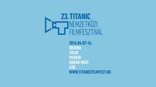 Titanic nemzetközi Filmfesztivál logó