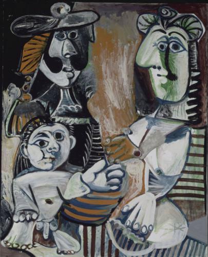 Pablo Picasso: A család (HUNGART)