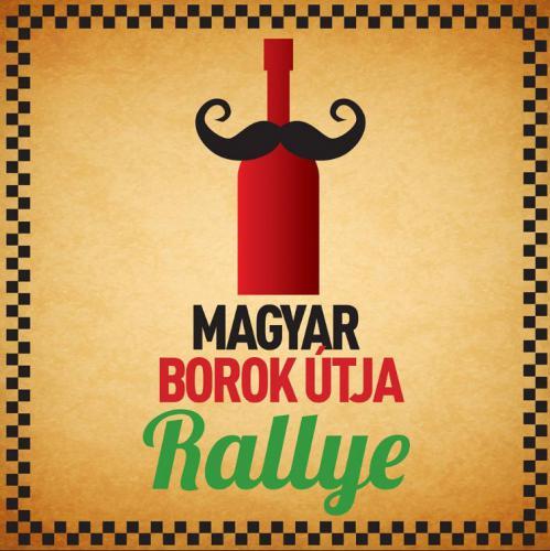 Magyar Borok Útja Rallye plakát