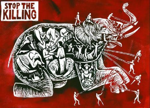 I. díj: Icsa Vivien - Stop the killing