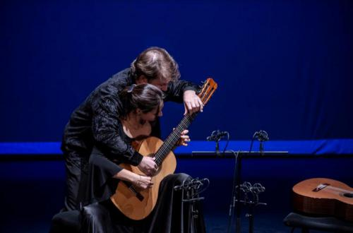 Anabel Montesinos és Marco Tamayo (foto Valuska Gábor)