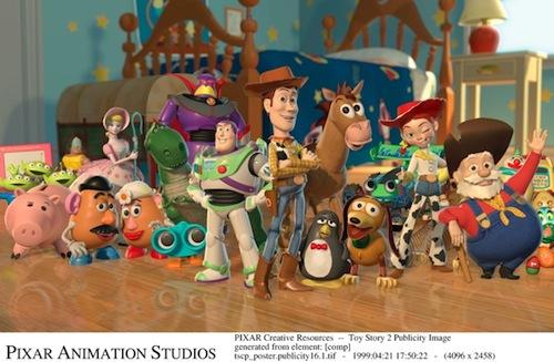 Toy Story 2. - A csapat