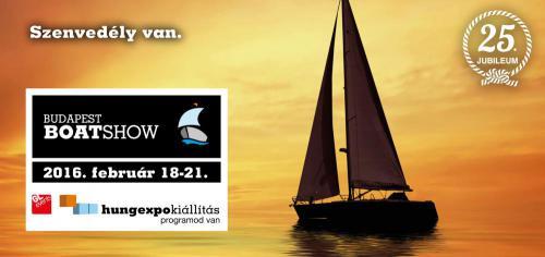 25. Budapest Boat Show, plakát