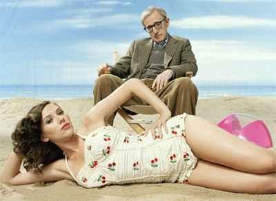 Woody Allen és Scarlett
