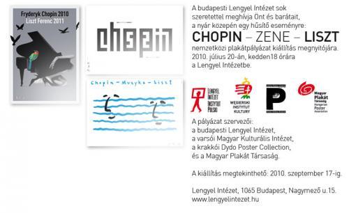 Chopin-zene-Liszt, meghívó