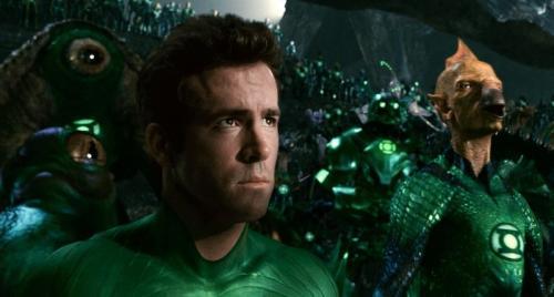 Ryan Reynolds a Zöld Lámpás c. filmben